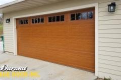 Rosewood Long Panel Carriage w/ Stockbridge Glass