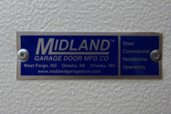 Midland Commercial Door Tag
