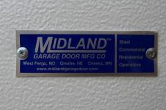 Midland Commercial Door Tag